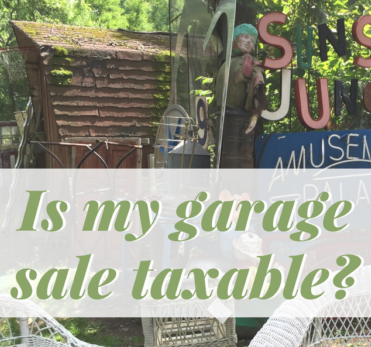 Do I Have to Pay Taxes on Money Earned at My Garage Sale?