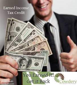 Earned Income Tax Credit | Cowdery Tax