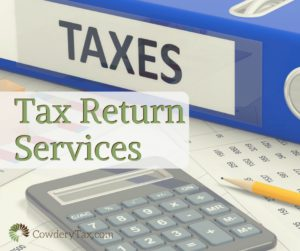 Tax Return Services   CowderyTax.com